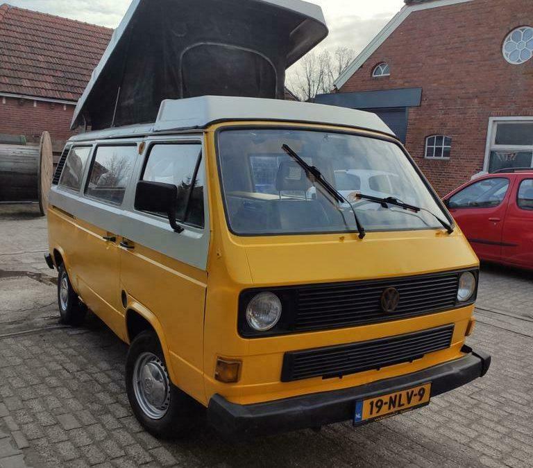 Nette VW T3 -1986 – Verkocht